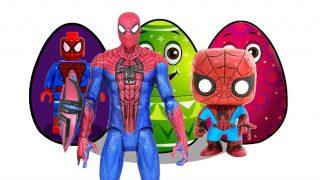 Spiderman surprise eggs
