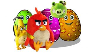 Angry bird surprise eggs