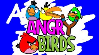 Angry bird colouring
