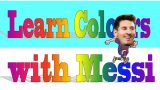 Learn colours with Messi