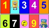 Find Spongebob toys games and Learn Numbers in English