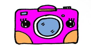 How to draw a cute camera easy step by step
