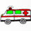 How to draw Ambulance easy step by step for kid